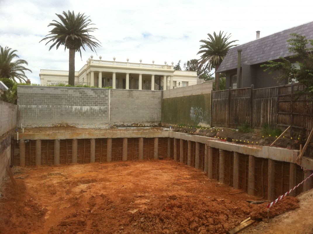 About us any piling conditions we can conquer basement for Basement foundation construction