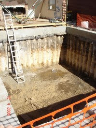 Basement Construction Specialist Piling Services - Contiguous Pile Wall