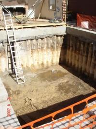 Basement Construction Specialist Piling Services - Contiguous Pile Wall