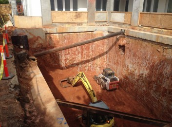 Basement Construction Specialist Piling Services - Diaphragm walls