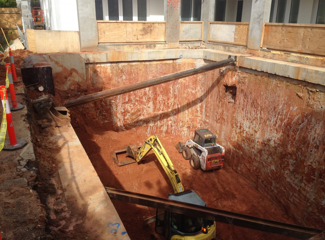 Services any piling conditions we can conquer basement for Basement construction